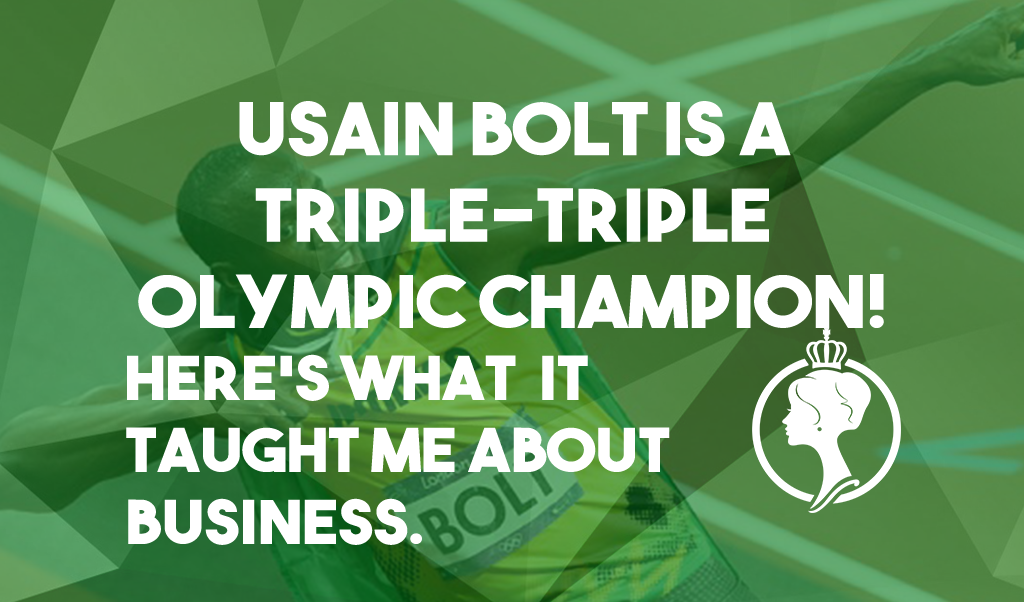 Here's what Usain Bolt's Triple Triple Olympic Gold Medal feat taught me about business.